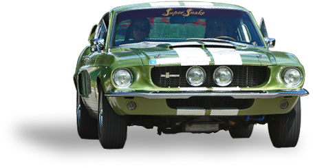 Oldtimer Ford Mustang Shelby GT-500